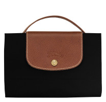 Porte-documents Le Pliage Longchamp L2182089 couleur noir vue plie