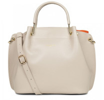 Grand sac Louisa cabas Lancaster Pur & Element Foulonné 470_19_BEIGE_IN_OR Beige / Orange