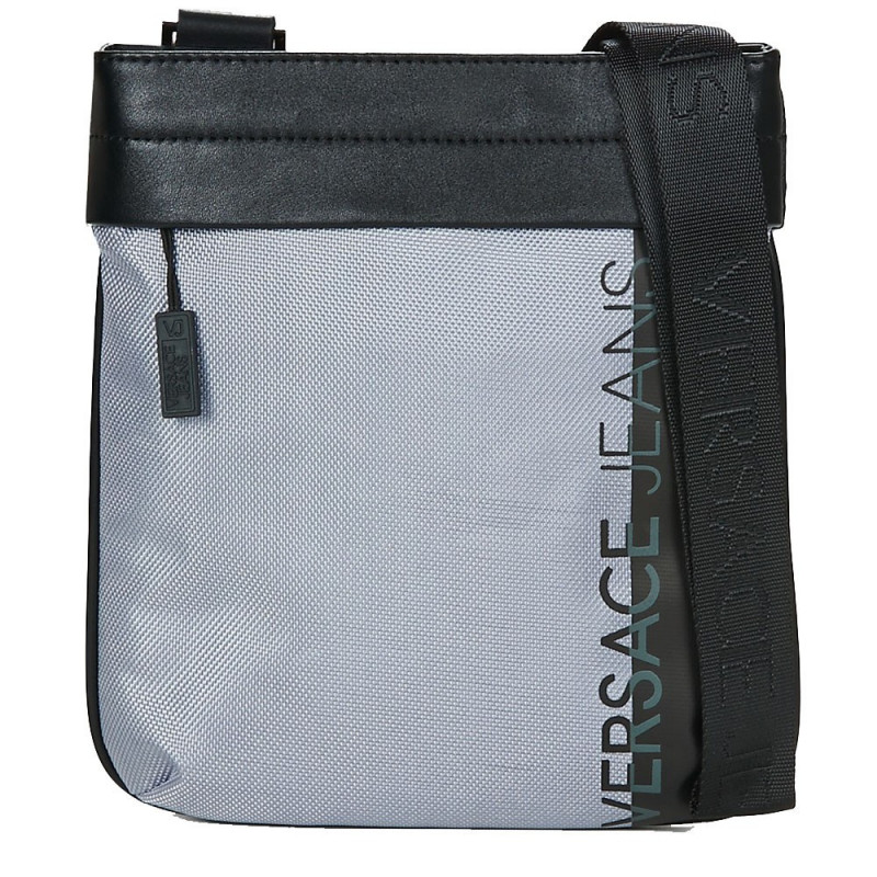save up to 80% differently retail prices Sac plat homme en similicuir Versace Jeans E1YRBB11 Couleur Gris