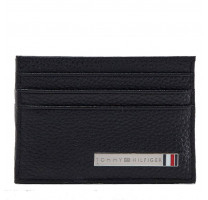 Porte cartes en cuir Tommy Hilfiger Plaque AM0AM03639