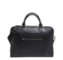 Sac ordinateur en cuir Tommy Hilfiger Corporate AM0AM04240
