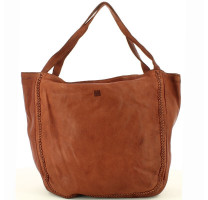 Sac shopping détail tressé Biba Milwaukee MIL1L