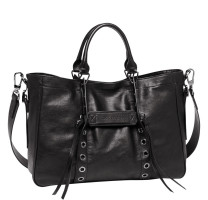 Grand sac porté main Longchamp 3D Rock L1285970001 Noir
