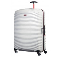 Valise trolley 81cm Samsonite Lite-Shock Sport 105269-7094 Off White / Red