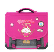 Cartable 35cm maternelle Pol Fox Cupcake P2-CA35 rose