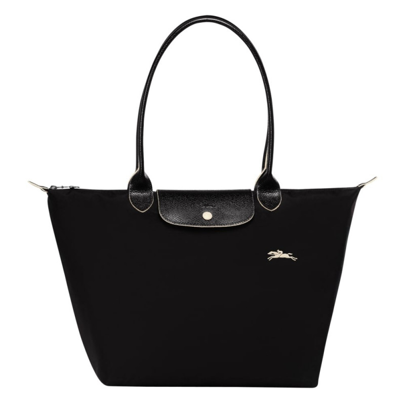 Sac tote bag L Longchamp Le Pliage Club L1899619001 Noir