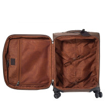 Valise cabine 55cm extensible Jump New Uppsala 4450NU Galet ouvert
