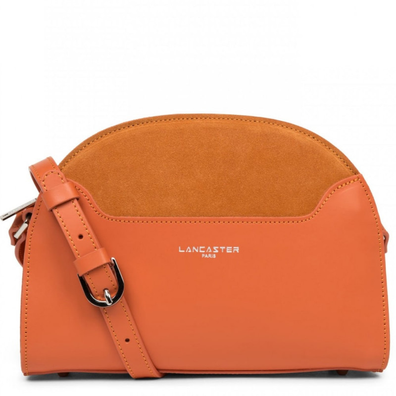 Sac demi-lune M Lancaster Vendôme Lune 432-49 Orange